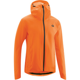 Gonso Save Plus Chaqueta Lluvia Hombre, red orange